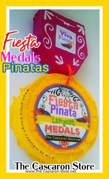 fiesta medals mini pinata