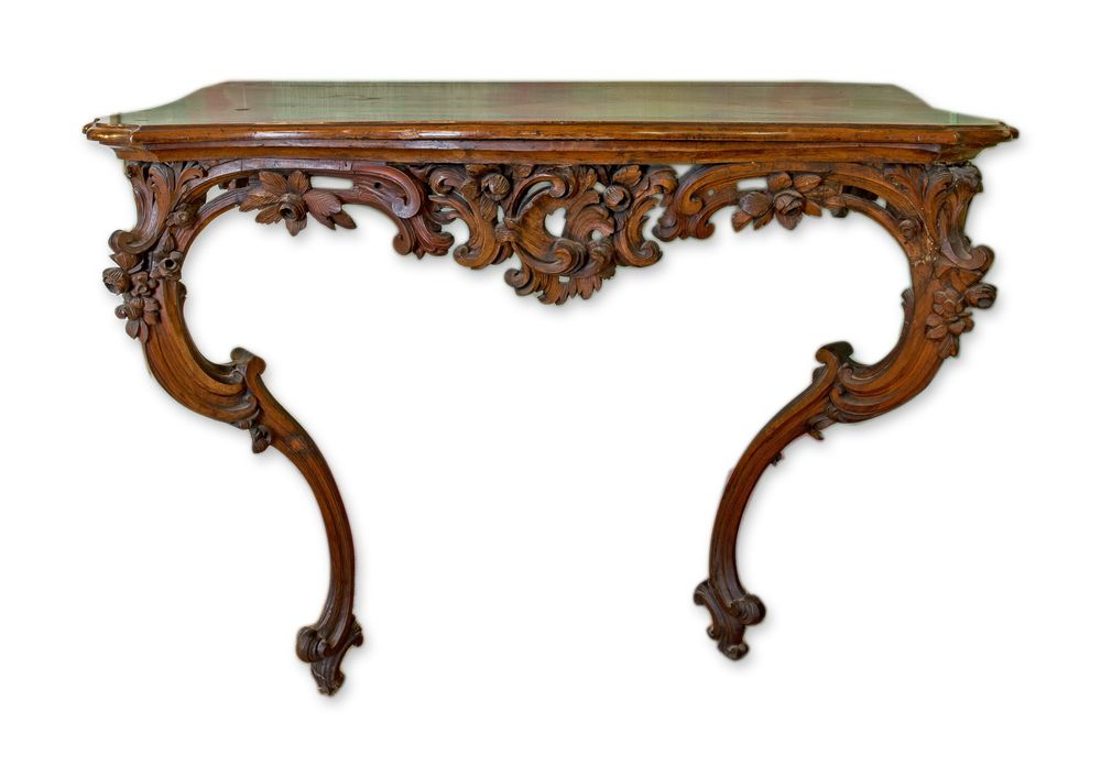 18th century console table 1/2