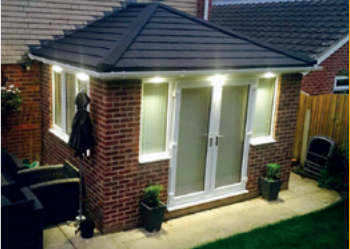 Warm roof tiled system provided by Homeseal in Chesterfield, Derbyshire