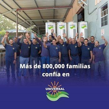 Calentador solar y cisterna en oferta en Puerto Rico.