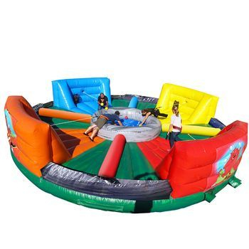 Hungry Hippo obstacle course