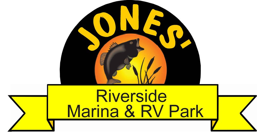 logo, fishing, riverside, marina, RV parkk