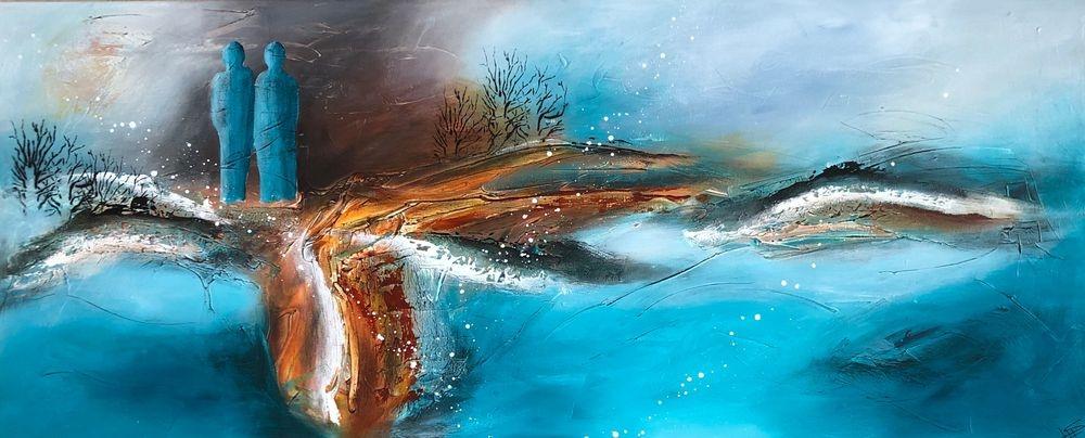 Køb-malerier-abstrakte-og-farverige