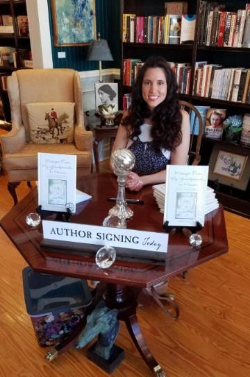 Andrea R Freeman, Author, Messages From My Grandparents In Heaven, Greyhound Bookstore, Indie Books, Books, Book Release, Book Signing, Book Discussion