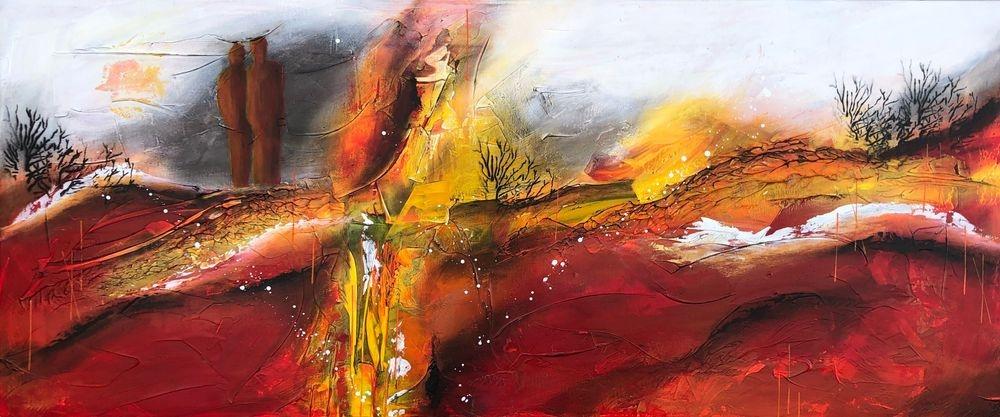 Farverig-kunst-køb-online