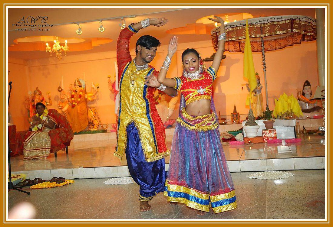 Hindu Wedding dancers Trinidad Ambassador Photography