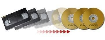VHS video tape to DVD transfer conversion service video history scotland