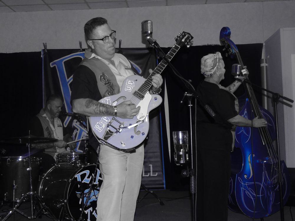 Rip It Up Live Rock and Roll, Rockabilly Band UK