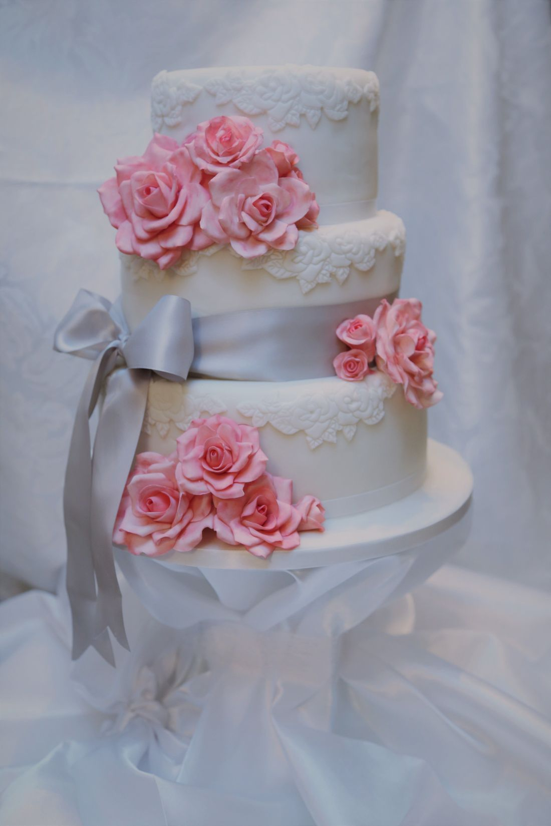 wedding cake sugar craft