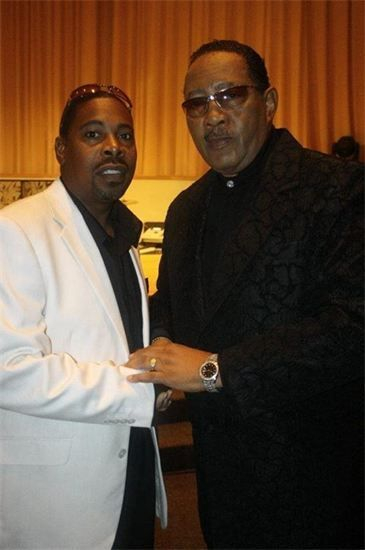 Bro Dave with the legendary Dr. Bobby Jones