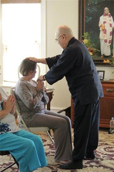 Attunement in Atlanta 3/17/2012 into Komyo Reiki Kai . Reiki Energy Healing class.