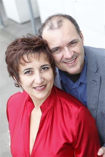 Duo Adriana Schneider, Sopran und Jürg Peter, Gitarrist und Tenor