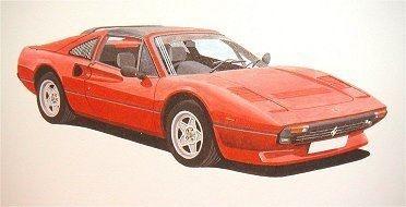 Ferrari 308 gts : 2 Remaining