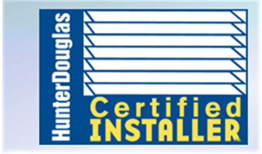 Hunter Douglas Certified Professional Installer