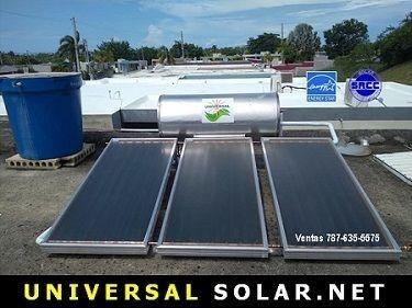 Calentador Solar venta Puerto Rico