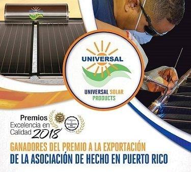 Premio fabriante calentadores solares y cisternas.