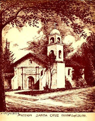 Mission Santa Cruz haunted