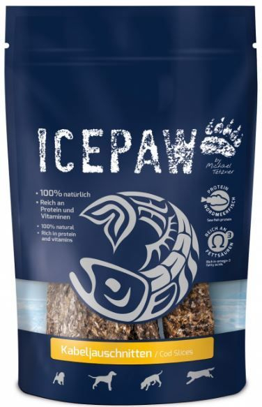 Icepaw Cod slices
