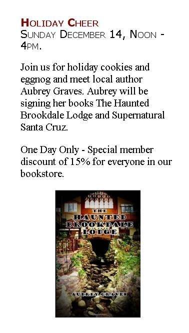 Brookdale Lodge book boulder creek museum haunted