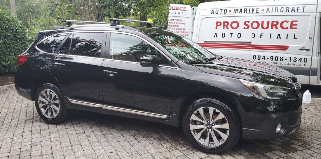 On site mobile car wash and detail