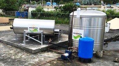 Calentadores solares para huracanes