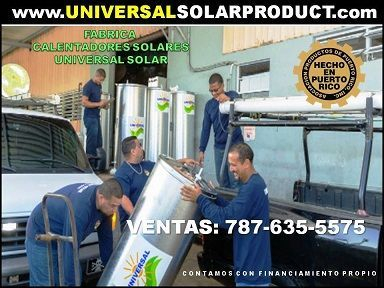 Fabrica calentador solar