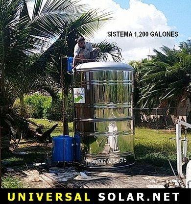 Tanque de agua 1200 galones