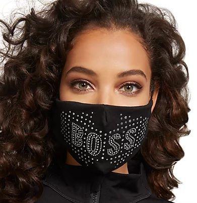 Sequin Boss Mask
