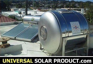 Calentador Solar resitente huracanes