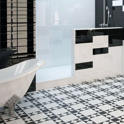 Tudor Victorian Black & White