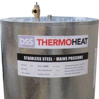 Duplex Stainless insert Heat pump water heater ready 3kW