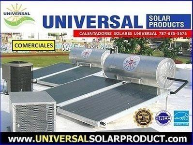 calentador solar comercial de 240 gaolones Puerto Rico