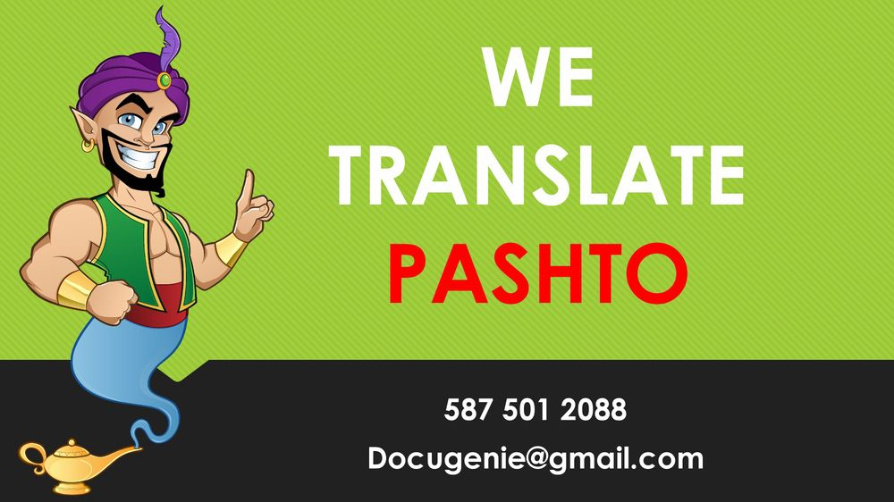 Pashto Translation