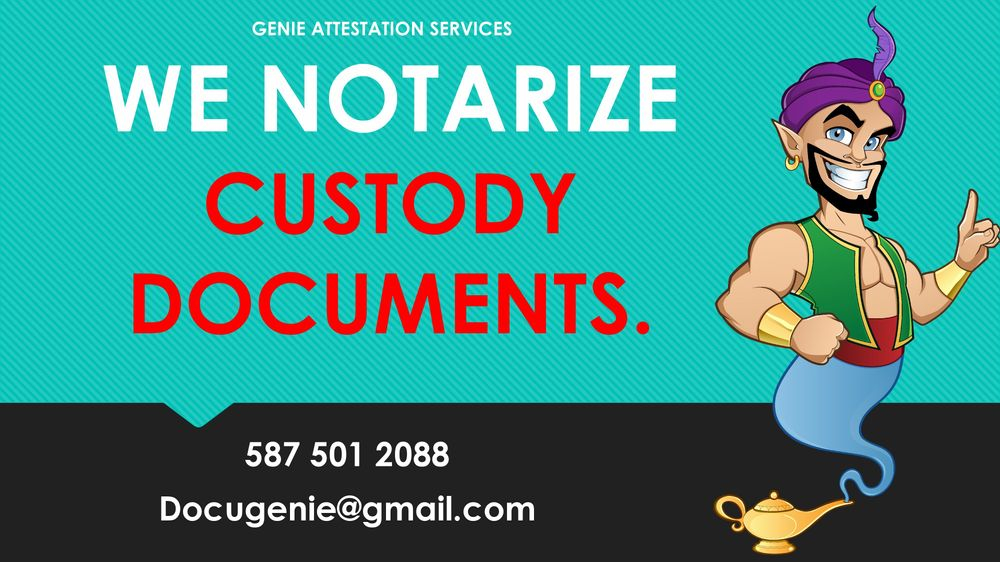 Custodianship Documents Notarization