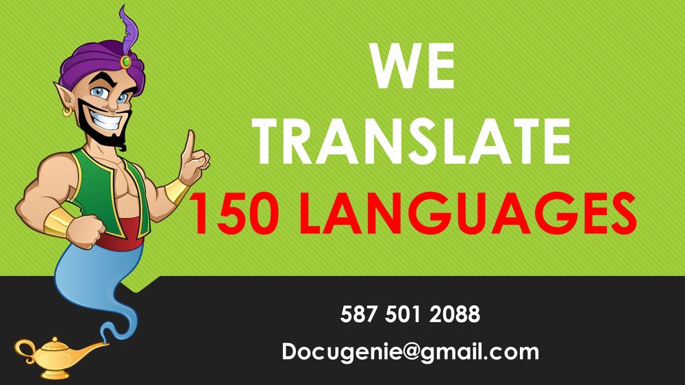 We translate 150 Languages