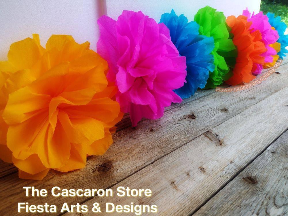 Fiesta flowers garlands