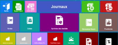 journaux logiciel de caisse pour restaurants et commerces