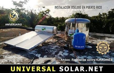 Solar heaters offers
