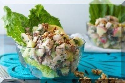 chicken waldorf salad phixr