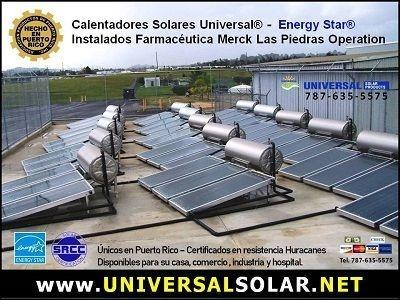 Instalaciones de calentadores solares en Puerto Rico