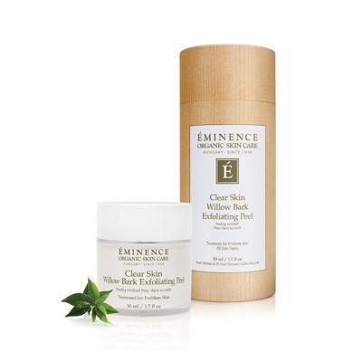 Eminence Clear Skin Willow Bark Exfoliating Peel, eminence barrhaven, buy eminence ottawa