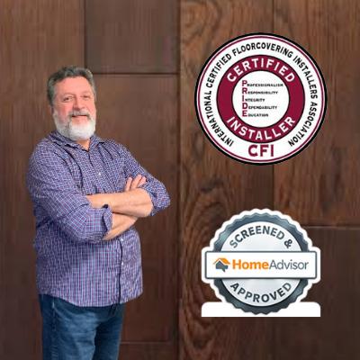 certified floorcovering installer badge