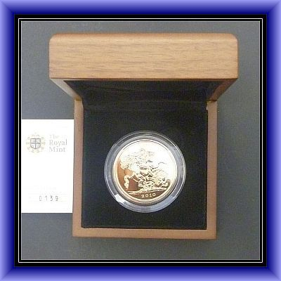 £5 Gold Proof/ 2010- GOLD COIN