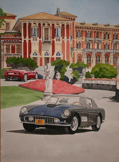 Villa D'Este Competition Artwork : See separate page for full information £900