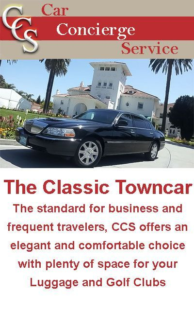 Towncar for Airport Transportation