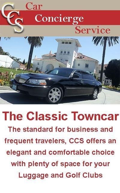 Towncar for Airport Transportation