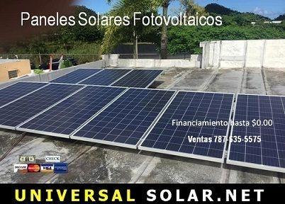 Paneles solares Puerto Rico