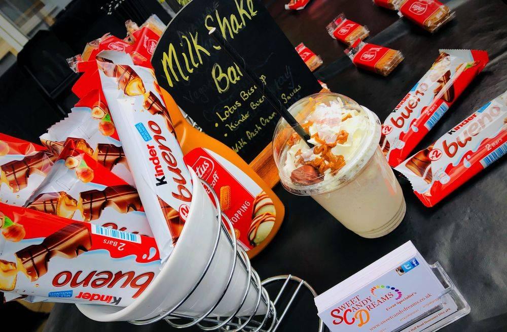 milkshake stations for events