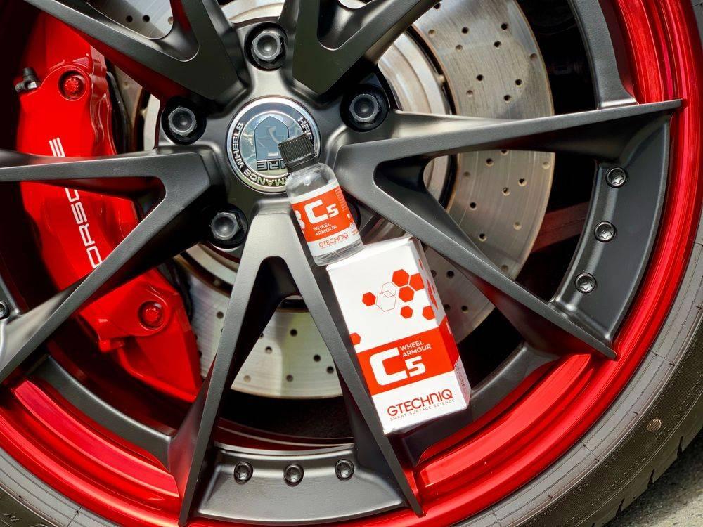 Wheel ceramic coating, wheel care