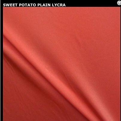Sweet potato lycra